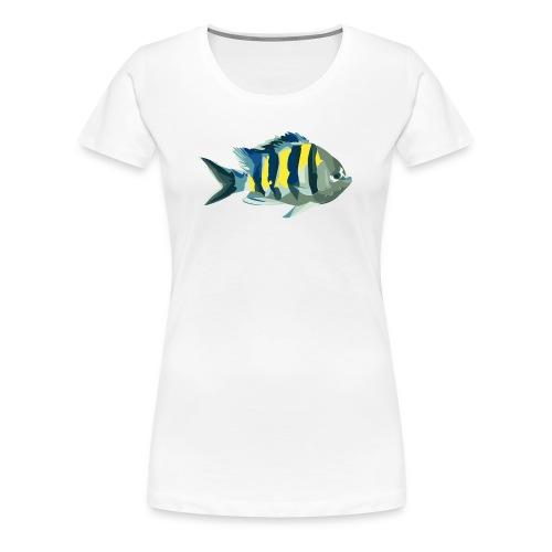 T-Shirt mit Riffbarsch - Frauen Premium T-Shirt