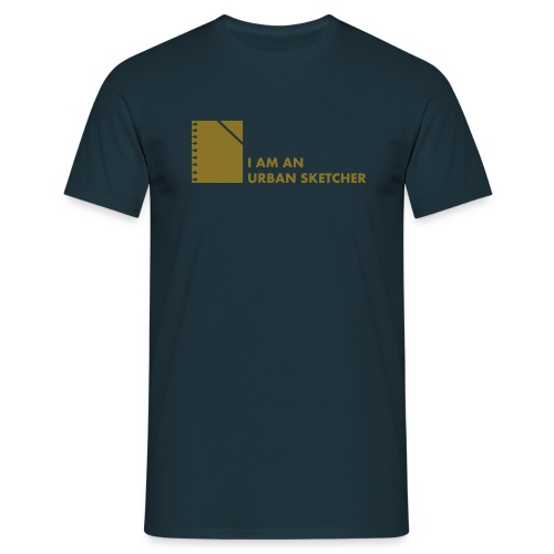 I am an Urban Sketcher - Männer T-Shirt