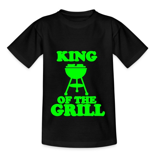 King of the Grill - Teenager T-Shirt