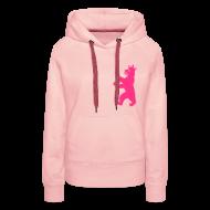 Pullover & Hoodies ~ Frauen Premium Kapuzenpullover ~ Artikelnummer 24580142