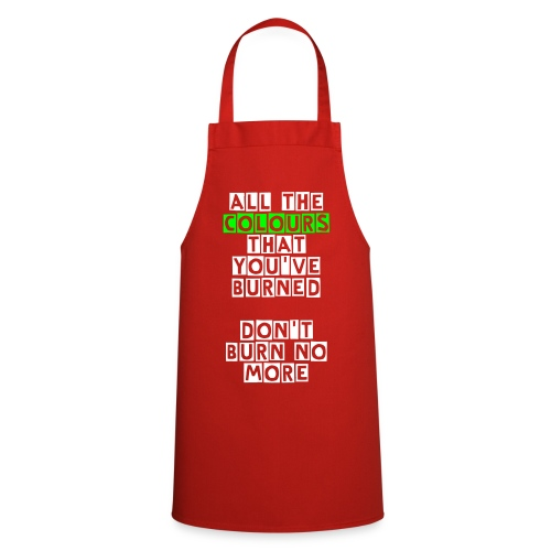 Cooking Shirt 'Burning Colours' - Cooking Apron