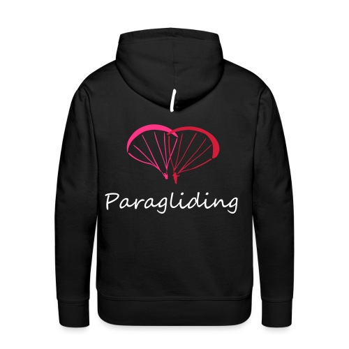 I Love Paragliding - Men's Premium Hoodie