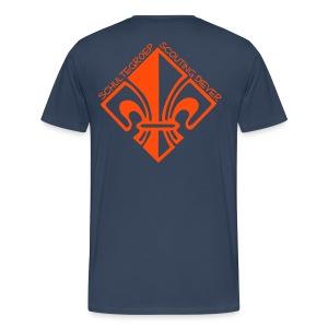 Big Shirt - Mannen Premium T-shirt