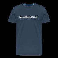 T-Shirts ~ Männer Premium T-Shirt ~ Enterprise-Melodie