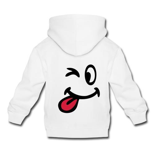 Sweat sourire - Pull à capuche Premium Enfant