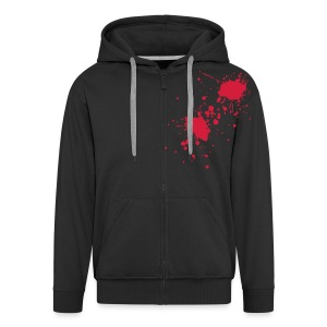 2 SHOT - Men's Premium Hooded Jacket