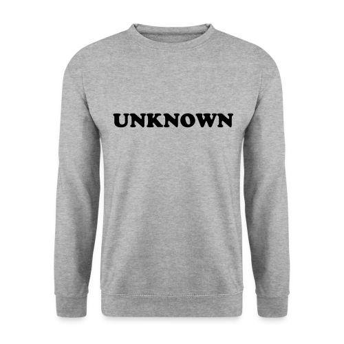 Unknown Print Pullover - Men's Sweatshirt