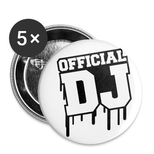 Badge DJ - Badge moyen 32 mm
