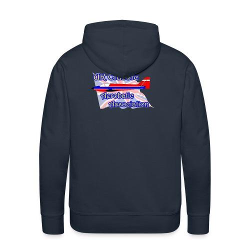 UKCAA Hoodie - Logo on the back - Men's Premium Hoodie