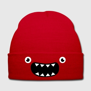 Funny Monster Face Petten & Mutsen - Wintermuts