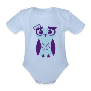 Miss Owli - Baby Bio-Kurzarm-Body