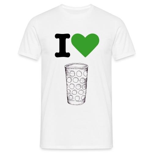 I Love Dubbe - Männer T-Shirt