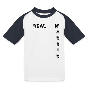 Tee-shirt enfant Real Madrid - Cristiano Ronaldo - T-shirt baseball Enfant