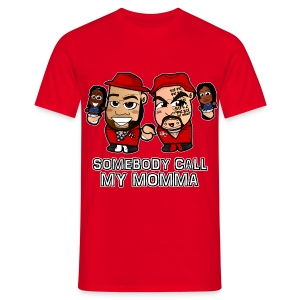 Chibi Brodus Clay - Call my Mama Shirt (Male) - Men's T-Shirt
