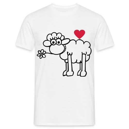 T-Shirt H Mouton coeur - T-shirt Homme