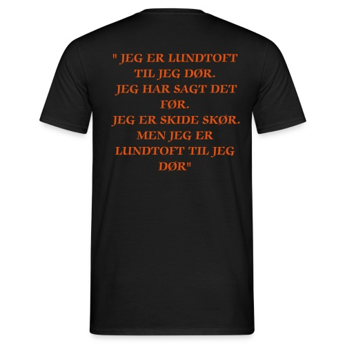 LIF SUPPORT - Herre-T-shirt