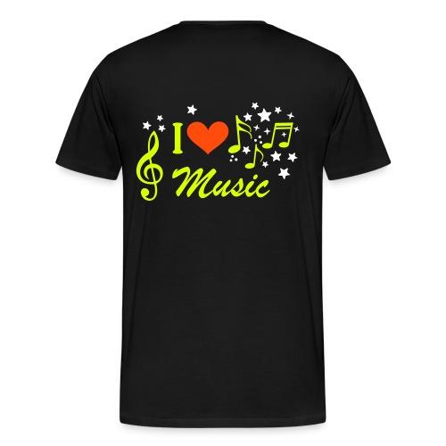 J'aime la musique CMRLM - T-shirt Premium Homme