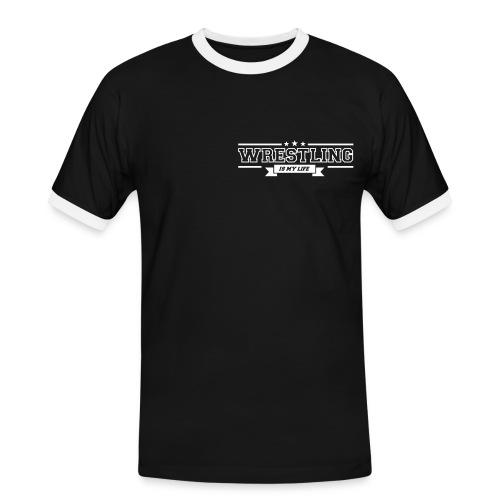 T-shirt Wrestling is my life - T-shirt contrasté Homme