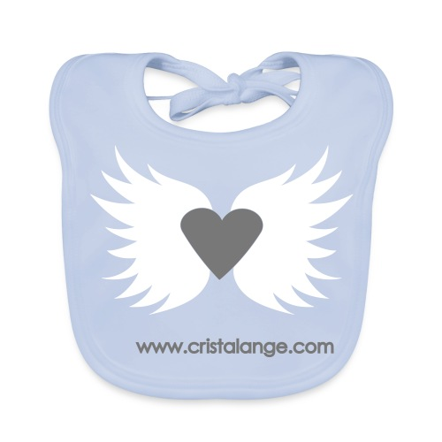 Bébé BIO : coeur d ange Cristalange  - Baby Organic Bib