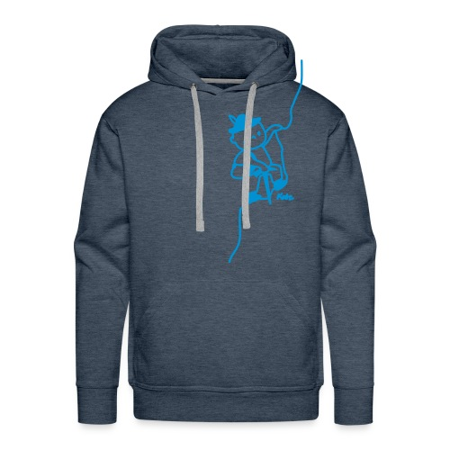 Escaladeur - Sweat-shirt à capuche Premium pour hommes