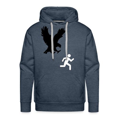 Help me. - Sweat-shirt à capuche Premium pour hommes