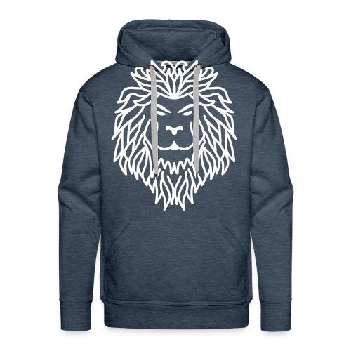 Lion - Sweat-shirt à capuche Premium pour hommes