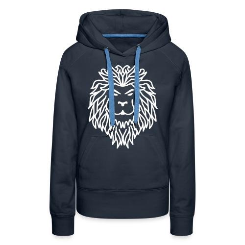 Lionne - Sweat-shirt à capuche Premium pour femmes