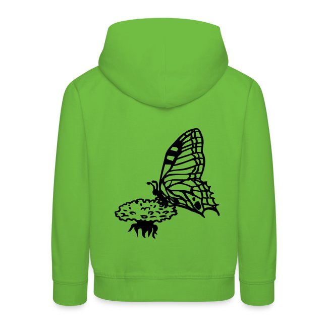 Kapuzenpulli Schmetterling