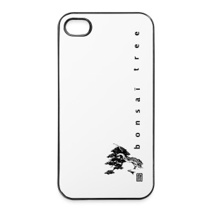 Coque rigide  IPHONE 4/4S  Kakemono Black - Coque rigide iPhone 4/4s