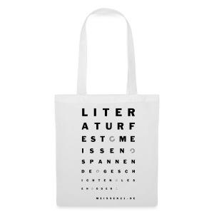 literaturfest-sehtest-tasche - Stoffbeutel