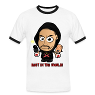 T-Shirts ~ Men's Ringer Shirt ~ Chibi Punk - Best in the World Special (Female)