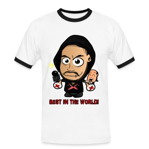 Chibi Punk - Best in the World Special (Female) - Men's Ringer Shirt