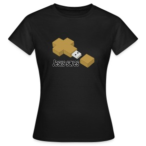 Jesus saves - Women's T-Shirt