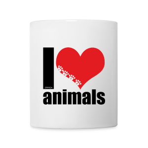 Tasse | VEGAN | I love animals - Tasse