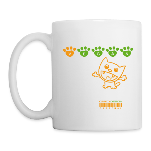 Tasse   VEGAN CAT - Tasse