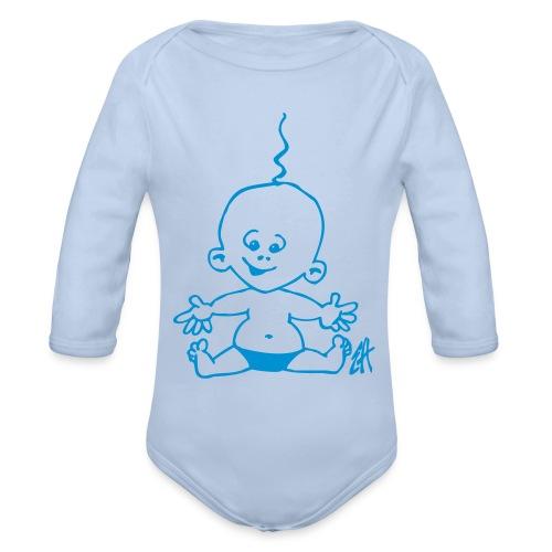 Bodie bébé heureux - Body bébé bio manches longues