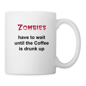 Coffe  Zombies - Tasse