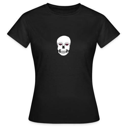 Schädel Skulls Augen Eyes Death Tod Horror Tattoo - Frauen T-Shirt