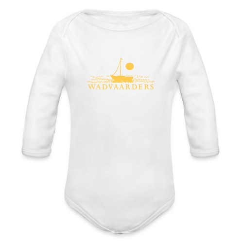 Rompertje/Digitale overdracht - Baby bio-rompertje met lange mouwen