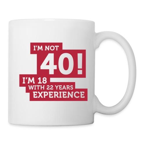 40 Yeard old - Mug