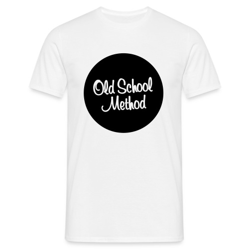 Old School Classic Black - T-shirt Homme
