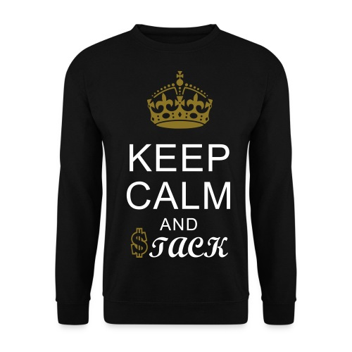 Keep calm and $tack - Men's Sweatshirt