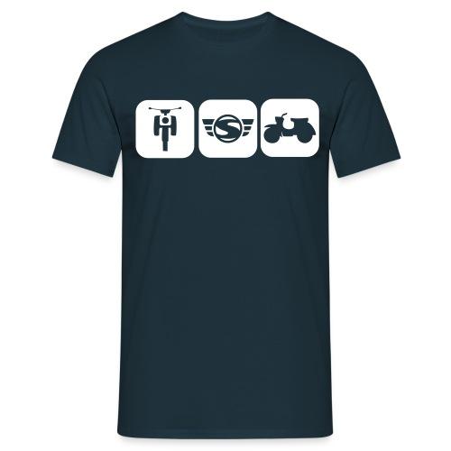 T-Shirt Simsonfreunde (Männer) - Männer T-Shirt