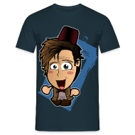 T-Shirts ~ Men's T-Shirt ~ Chibi Doctor Who - 11th (Male)