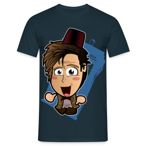 Chibi Doctor Who - 11th (Male) - Men's T-Shirt