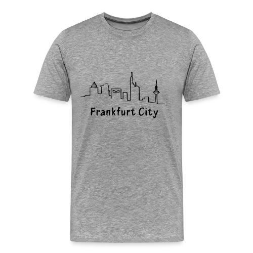 frankfurt city - Männer Premium T-Shirt