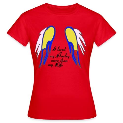 TS ROUGE FEMME LOVED LIFE - T-shirt Femme