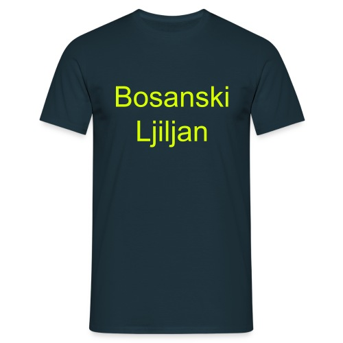 Tshirt Bosanski ljiljan with description Bosnia - Mannen T-shirt