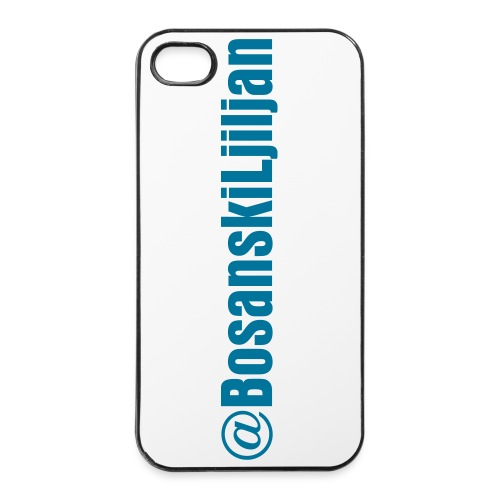 Iphone 4/4s HardCase hoesje Bosanski Ljiljan - iPhone 4/4s hard case