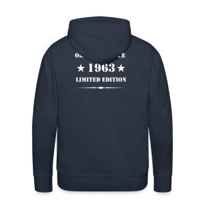 Kapuzenjacke 1963 Limited Edition - Männer Premium Hoodie